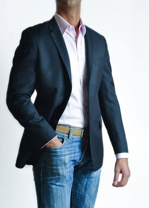 c92a3859dd35 Consider your trouser choices carefully when wearing your sports jacket.  Never pair it with trousers that are even closely matching to the sports  jacket.